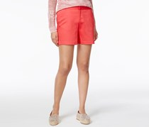 INC International Concepts Cotton-Blend Shorts, Polished Coral