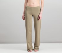 Guess by Marciano Women's Elastic Waistband Pants, Gold