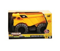 Toy State CAT Tough Tracks Construction Dump Truck, Yellow