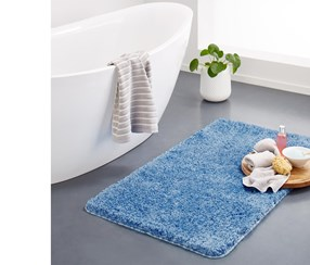 Bath Mat 70 x 120, Light Blue