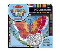 Melissa & Doug Stained Glass Made Easy Butterfly Set, Combo