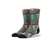Stance Boys Xmas Creature Socks, Black/Red/Green