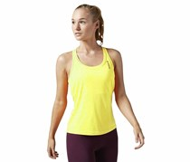 Reebok Women's Sports Tank, Neon Green/Yellow