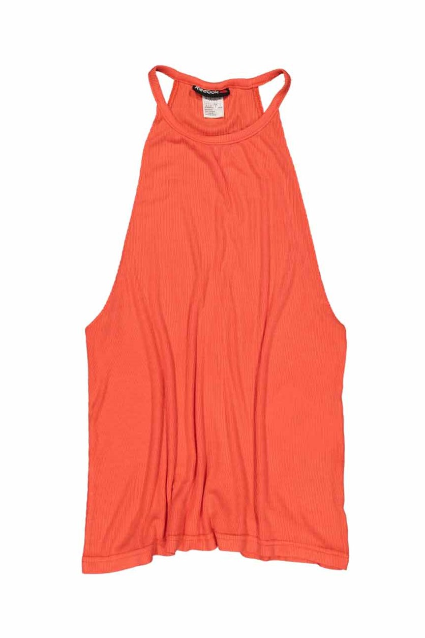 Crew Neck Training Tank, Orange