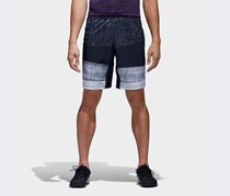 Adidas Men's Crazytrain Graphic Short, Navy Combo