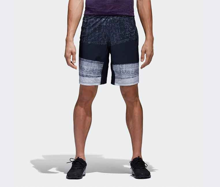 Men's Crazytrain Graphic Short, Navy Combo