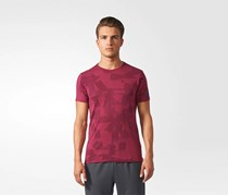 Adidas Freelift Elivated Tee, Mystery Ruby