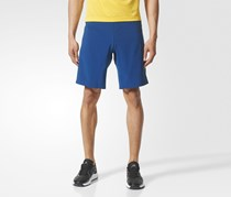 Adidas Men's Crazytrain Shorts, Blue