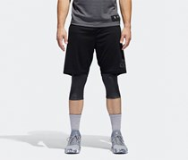 Men's Dame Foundation Two-in-One Shorts, Black