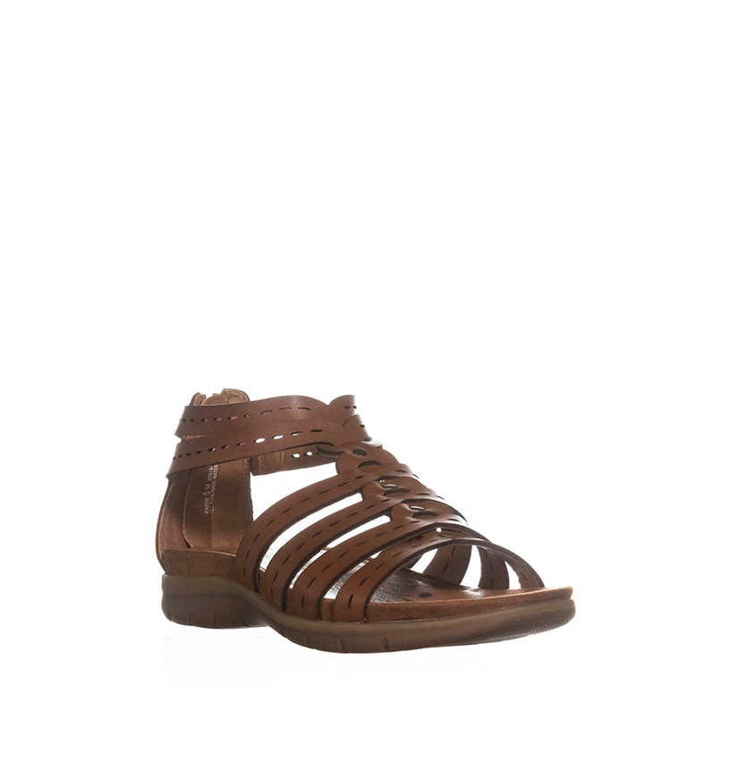 Baretraps Kaiser Flat Sandals, Brush Brown
