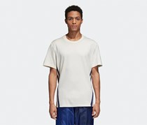 Adidas Men's EQT Premium Short Sleeve Tee, Off White