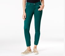 Celebrity Pink Juniors Colored Skinny Pants, Botanical Green