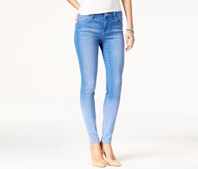 Celebrity Pink Jeans Juniors' Super Skinny Jeans, Blue Lagoon Wash