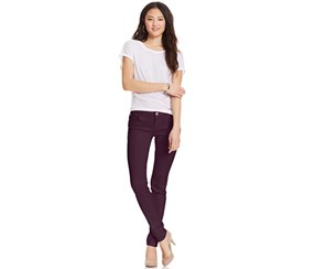 Celebrity Pink Jeans Juniors' Skinny Jeans, Purple