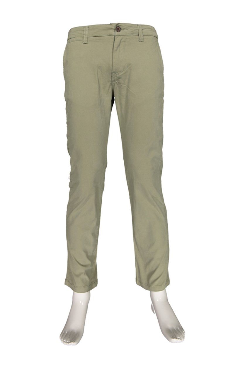 Men's Castleton Chino Nashville Straight Pants, Light Army