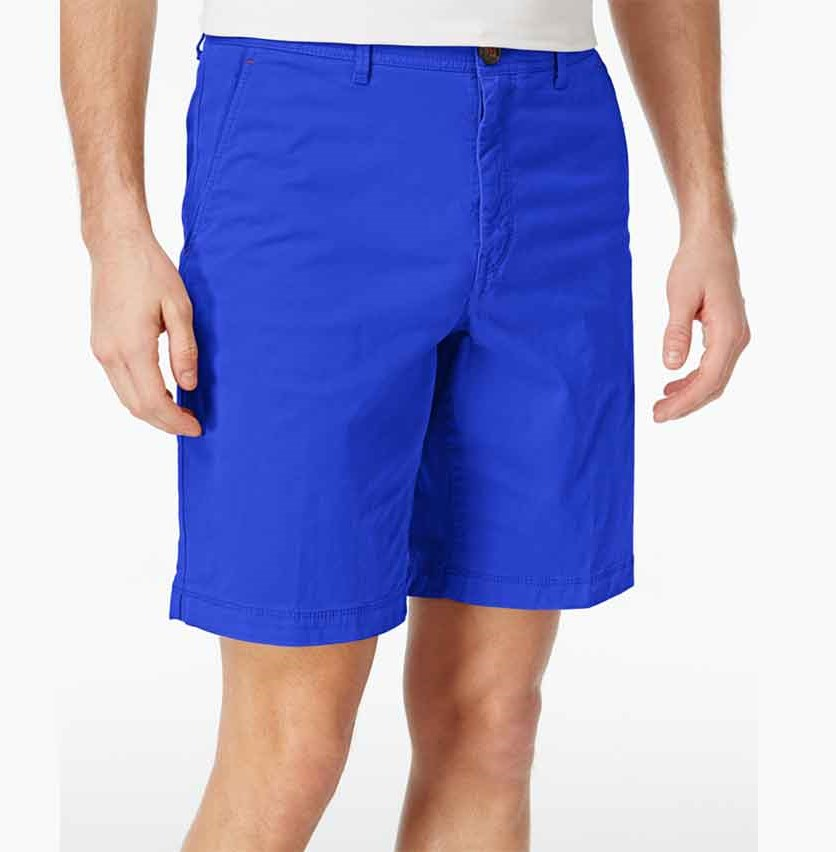 Mens Shorts, Nautical Blue