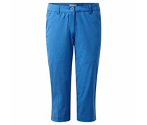 Craghoppers Women's Kiwi Pro Crop Pants, Blue