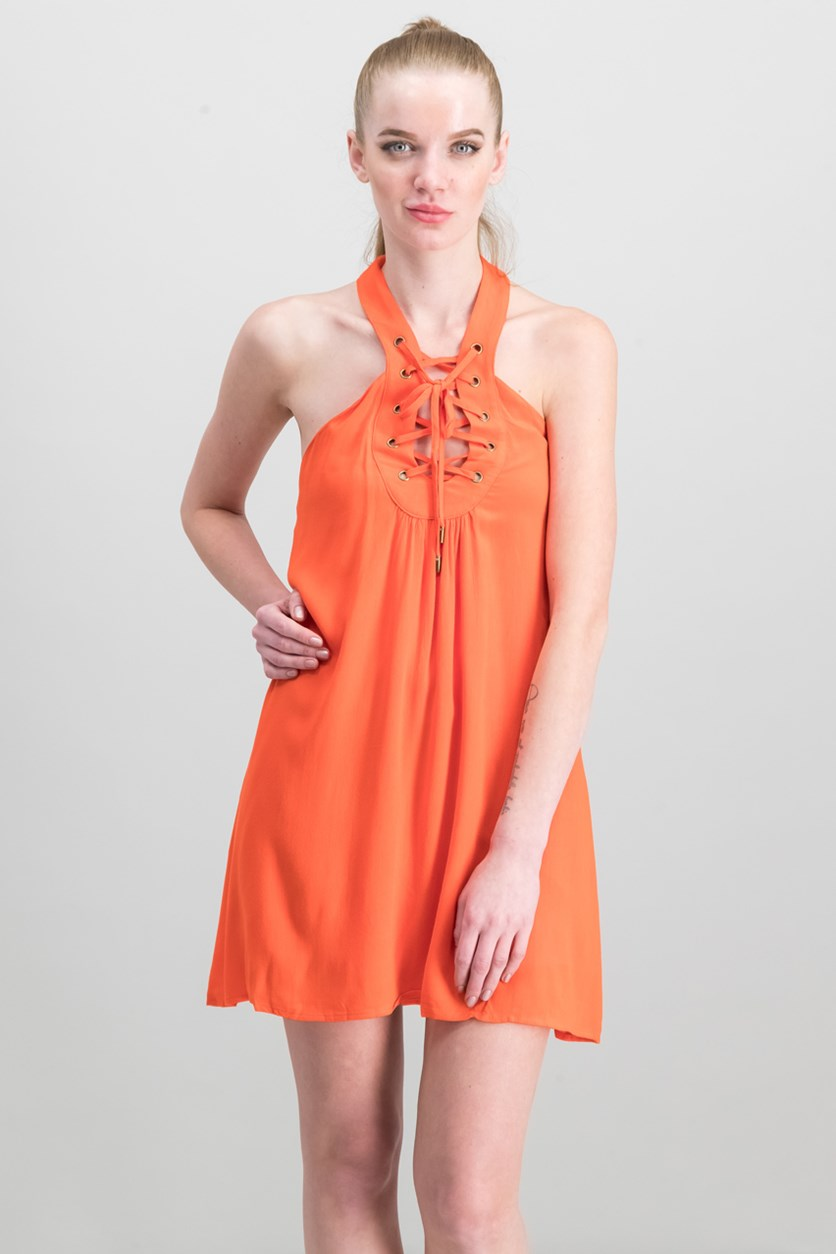 Women's Dress, Orange