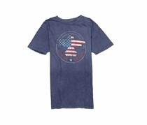 Flag & Anthem Men's Freedom Riser Tee, Vintage Navy
