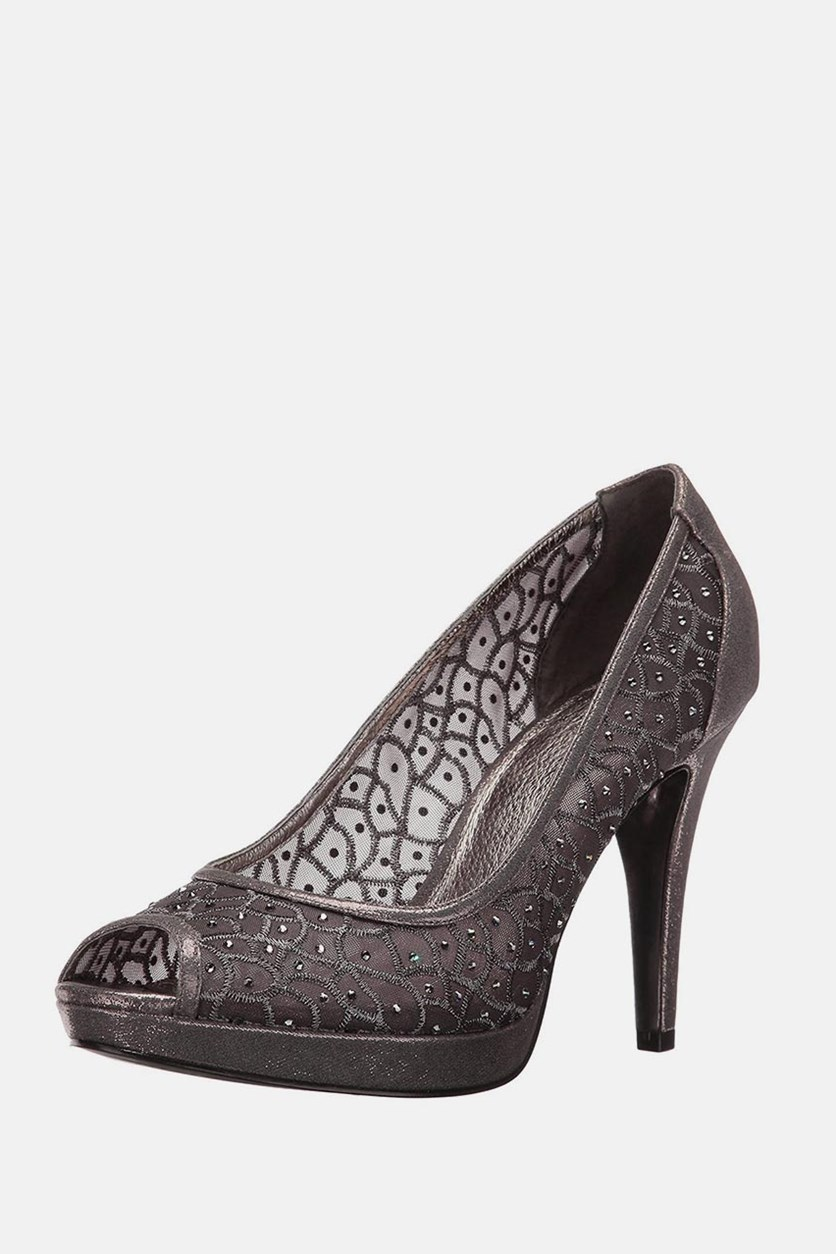 Women's Foxy Dress Pump, Gunmetal