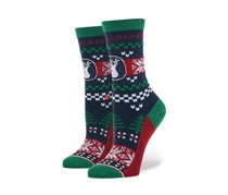 Stance Girls Holladayze Socks, Navy/Red/Green