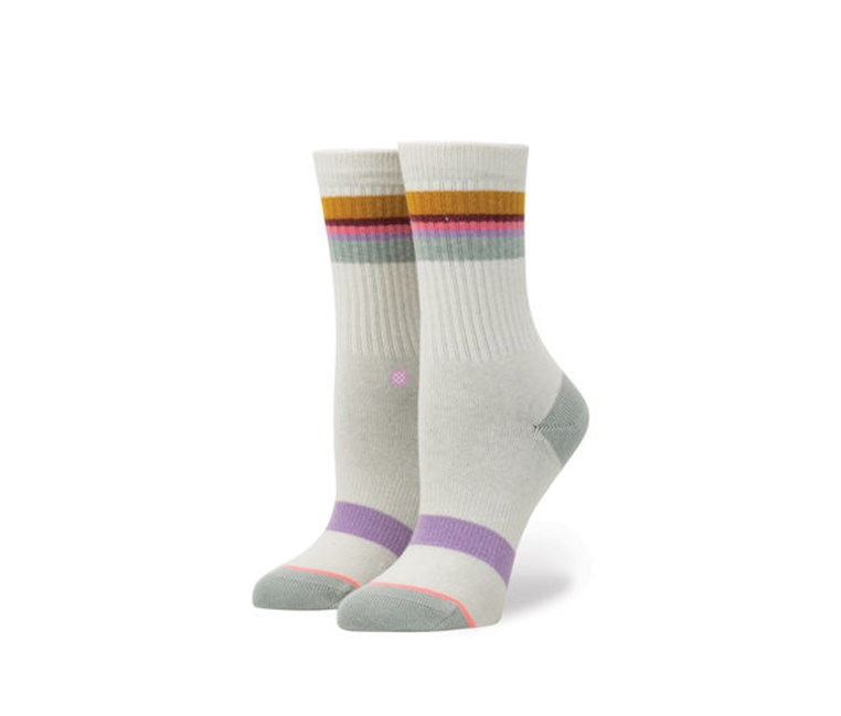 Girls Jiggy Socks, Light Grey