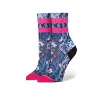 Stance Girls Dakota Socks, Purple/Black/Pink