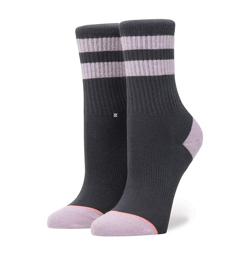 Girls Harmony Socks, Navy-Grey/Lilac