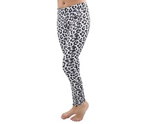 Hurley Juniors Performance Legging, White Leopard