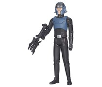 Star Wars Rebels Agent Kallus Action Figure, Black/Grey