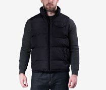 Hawke & Co. Outfitter Men's Weather-Resistant Puffer Vest, Black