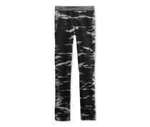 Imperial Star Big Girls Skinny-Fit Knit Jeans, Black Marble