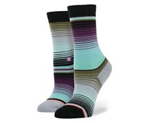 Stance Girls Amiga Socks, Black Combo