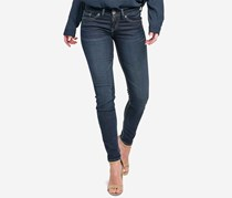 Silver Jeans Co. Suki Super-Skinny Ankle Jeans, Indigo