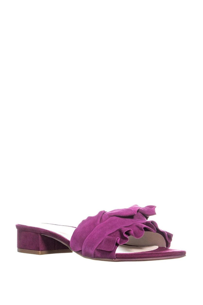 Womens Monah Slide Sandals, Orchid Suede