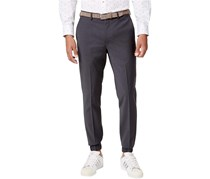 689ba2fca49b Bar Iii Men s Extra-Slim Fit Stretch Wrinkle-Resistant Jogger Suit Pant
