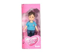 Fulla School Boy Badr Doll, Blue/Denim Combo