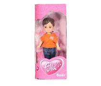 Fulla School Boy Badr Doll, Orange/Denim Combo