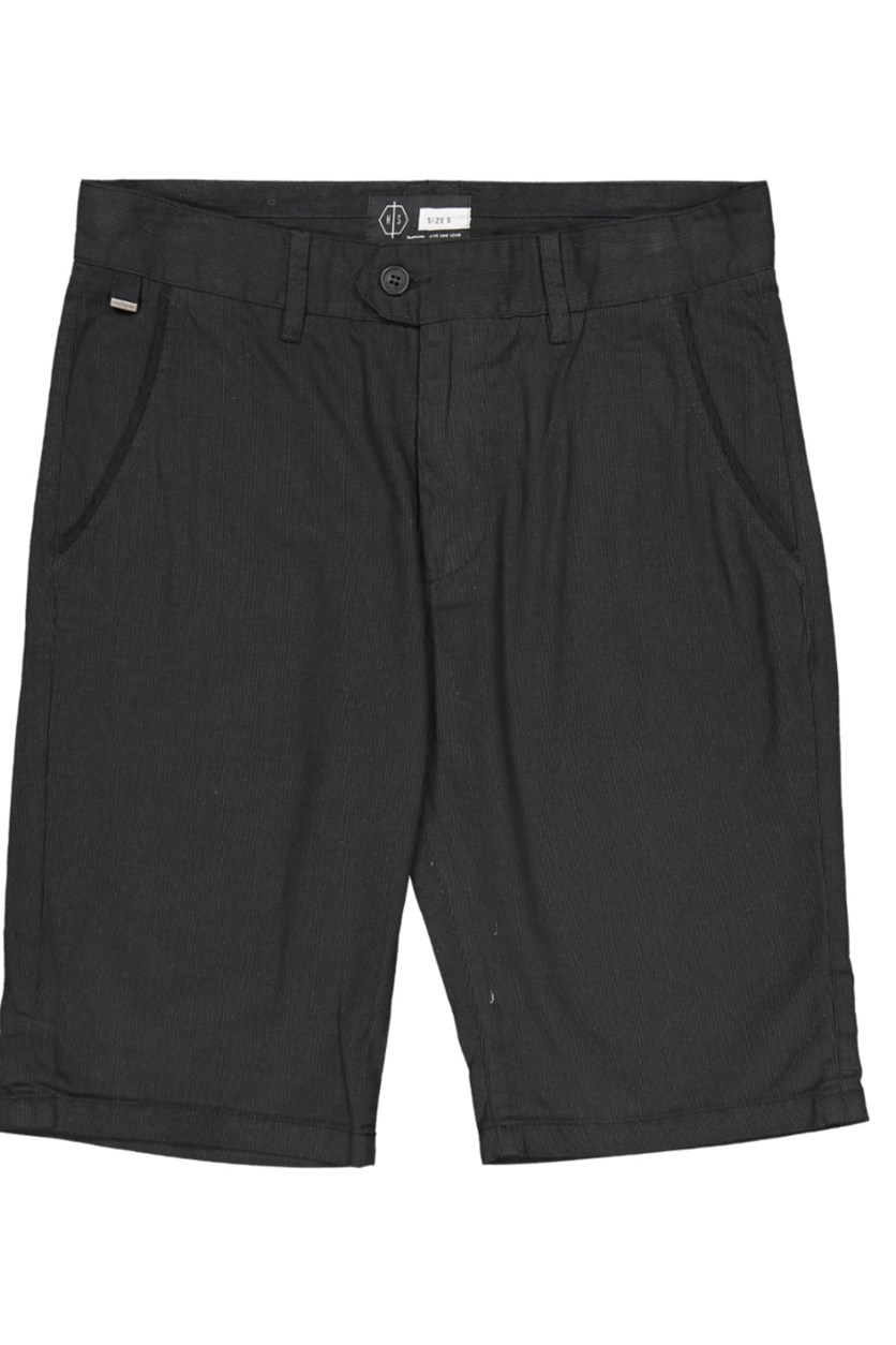 Men's Plain Short, Black
