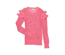 Pink Republic Kids Girl's Sweater, Coral