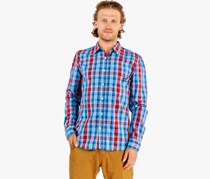 Cropp Men's Checkered Shirt, Blue/Red