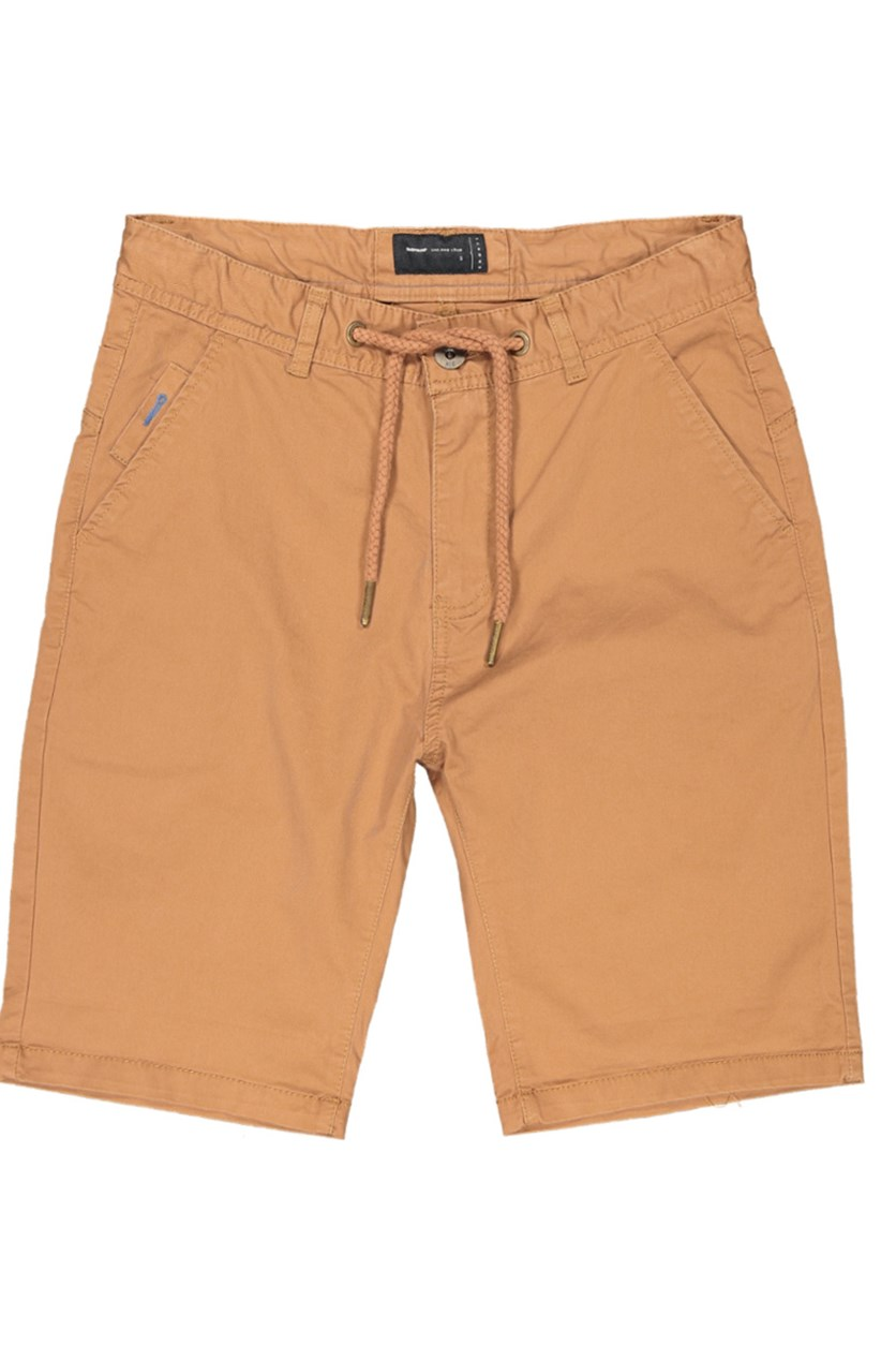 Men's Plain Shorts, Brown
