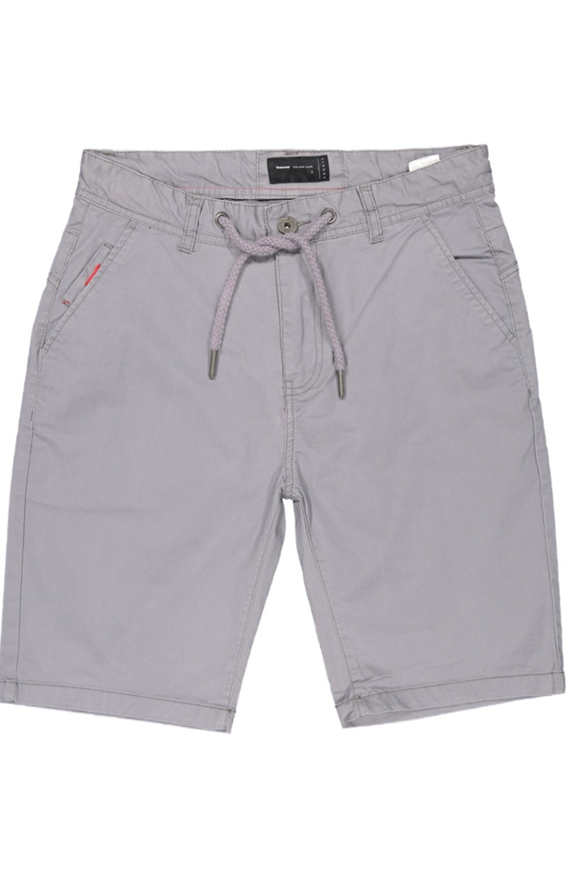 Men's Plain Shorts, Grey