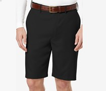 Pga Tour Men's Flat-Front Expandable Shorts, Black