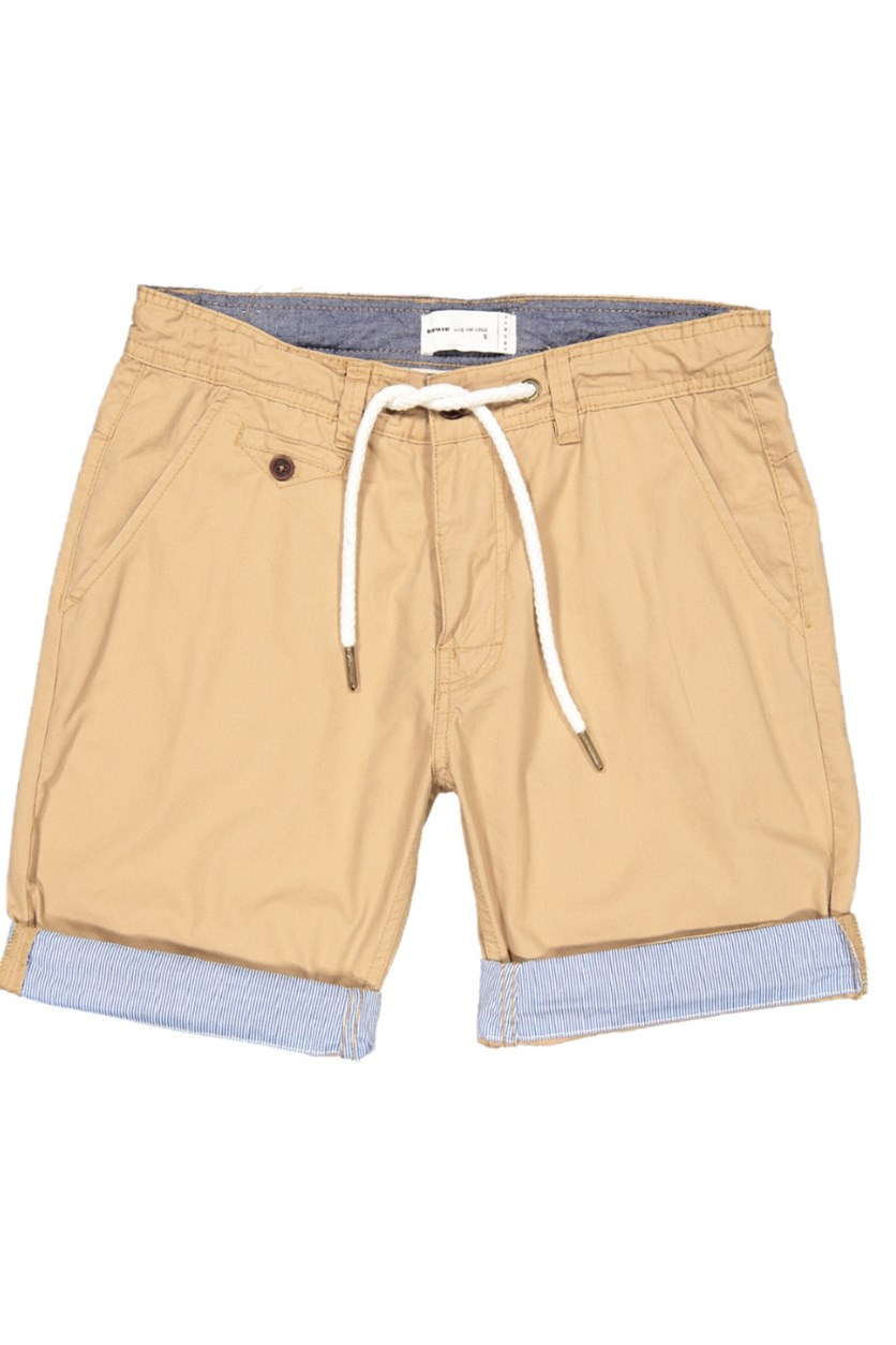 Men's Plain Shorts, Tan
