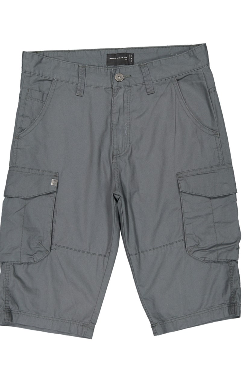 Men's Cargo Shorts, Steel