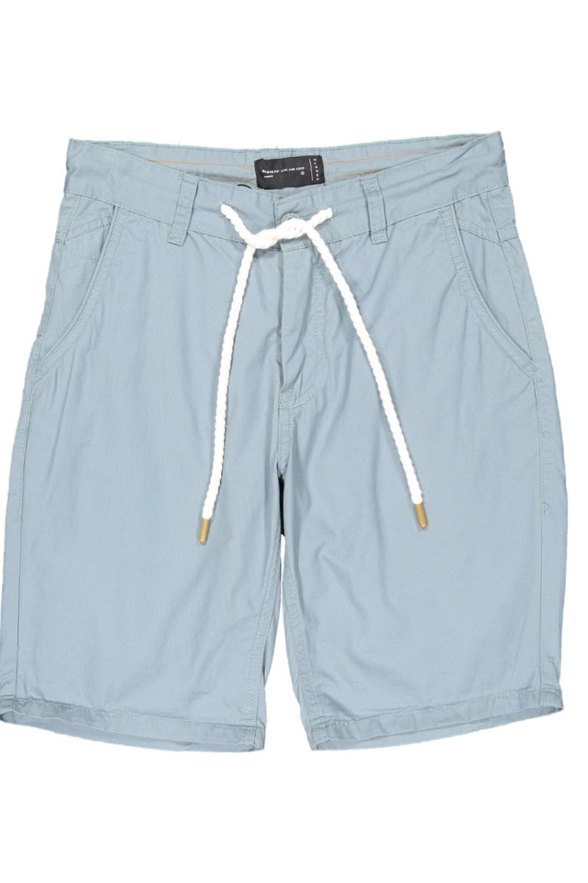 Men's Plain Shorts, Light Teal