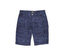 House Men's Camouflage Shorts, Navy