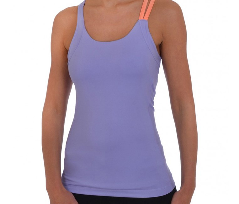 Women's Strappy Tank, Light Purple