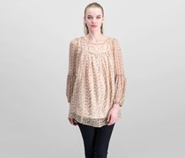 Beulah Women's Printed Top, Blush